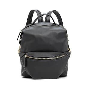 fashion backpack with belt bag