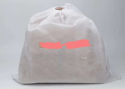 Non-woven drawstring dust bag