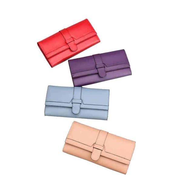 vegan leather PU wallet supplier