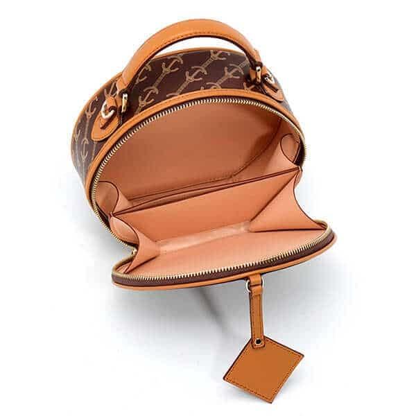 Shoulder PVC round bag canteen bag China
