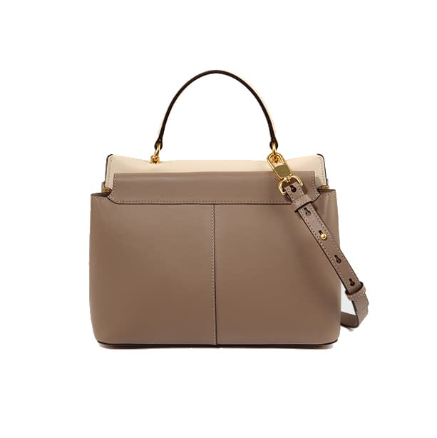 Top quality ustainable recycled leather tote bag 1
