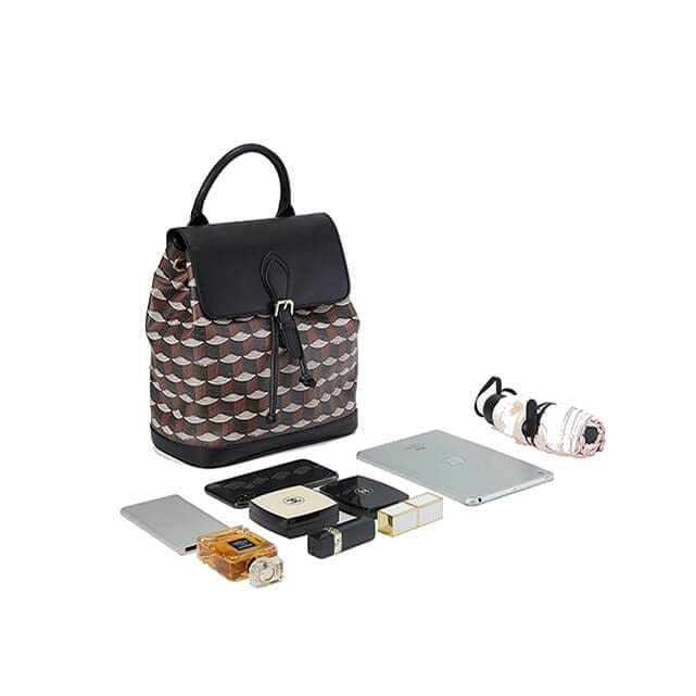 High quality printed pattern backpack 3