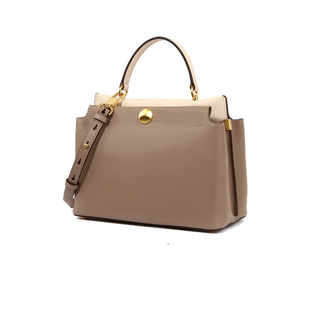 Top quality ustainable recycled leather tote bag 4