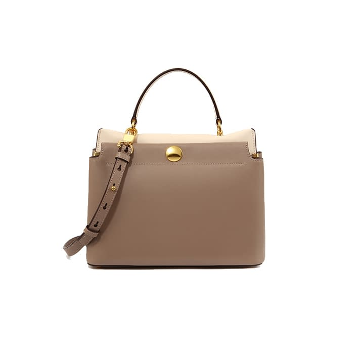 Top quality ustainable recycled leather tote bag 2