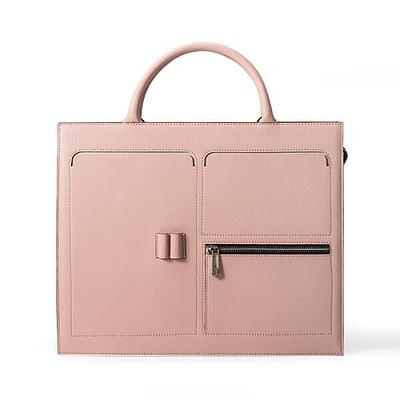 Saffiano leather document bag supplier