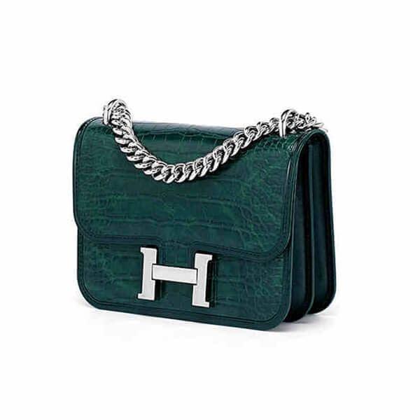 Designer fashion handbag with accordion bag side (4)