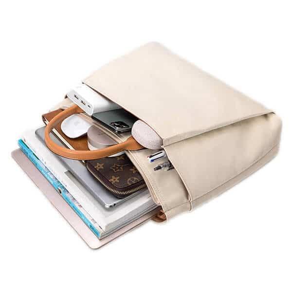 Nylon material tote document bag in stock