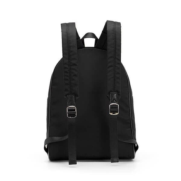 Polyester fabric plain backpack manufacturer in China