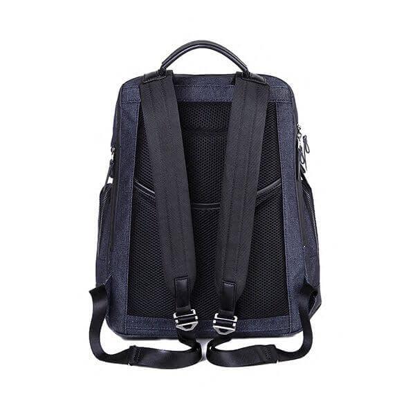 jean-denim fabric backpack factory China