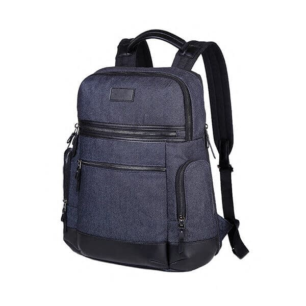 jean-denim fabric backpack supplier in China