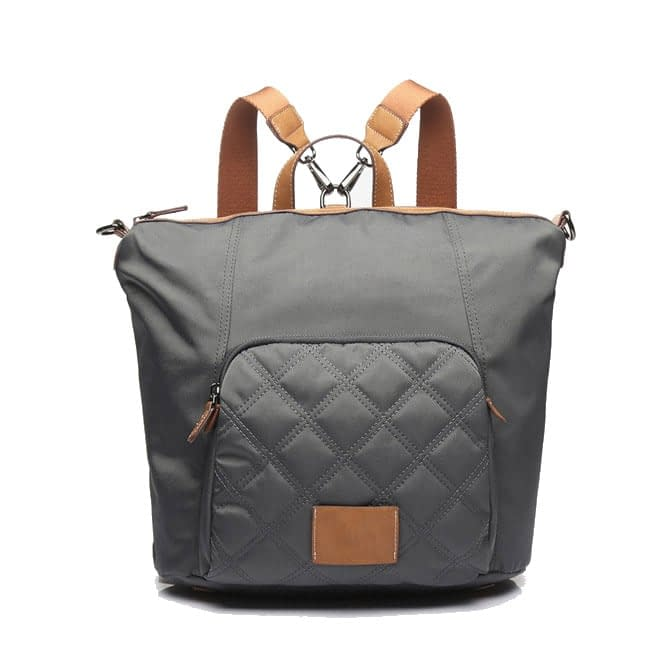 Convertible fashion nylon backpack 6