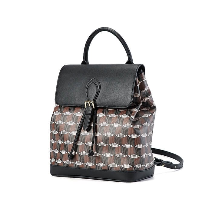 High quality printed pattern backpack 5