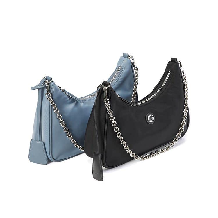nylon hobo bag black 5