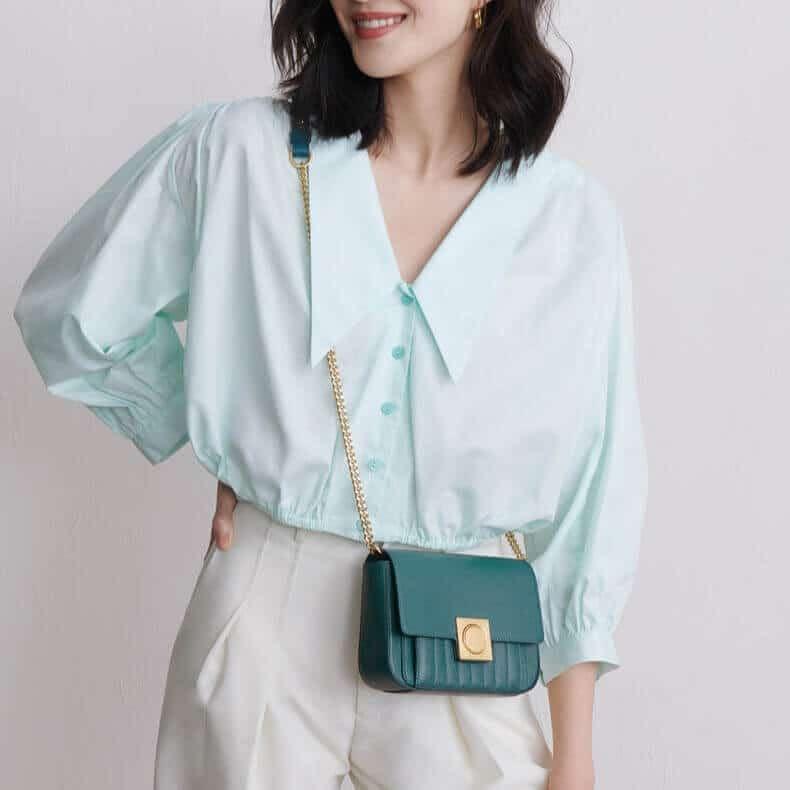 Fashion girls chain crossbody bag supplier in China 2