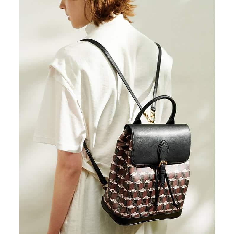 High quality printed pattern backpack 6