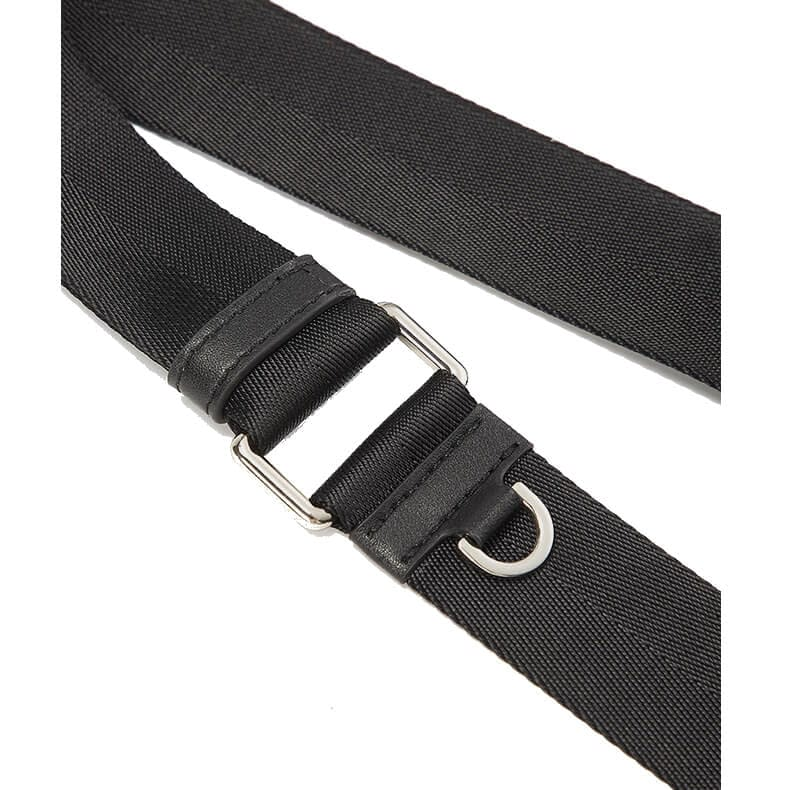 nylon hobo bag black 4
